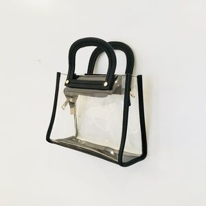 Handbags - PVC CLEAR MINI HANDBAG/CROSSBODY